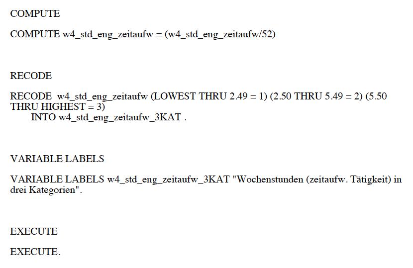 PSPP-Syntax_Wochenstunden-zeitaufwaendigste-Taetigkeit-in-3-Kategorien